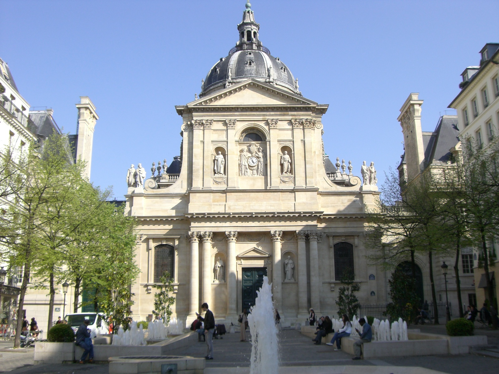 Chapelle de la sorbonne for Sorbonne paris