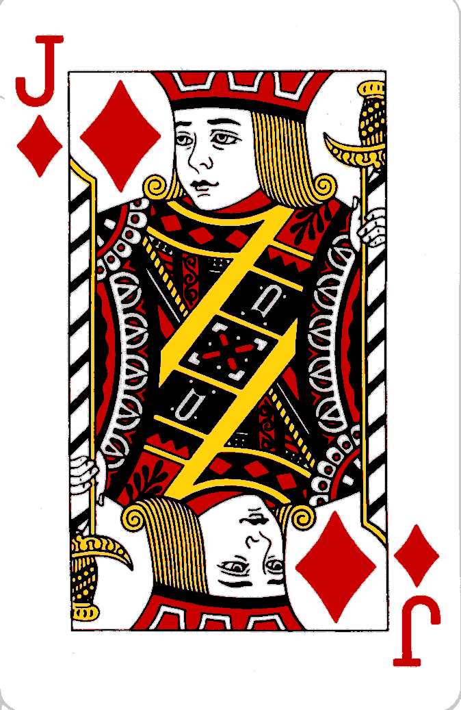 Playing Cards Jack Of Clubs