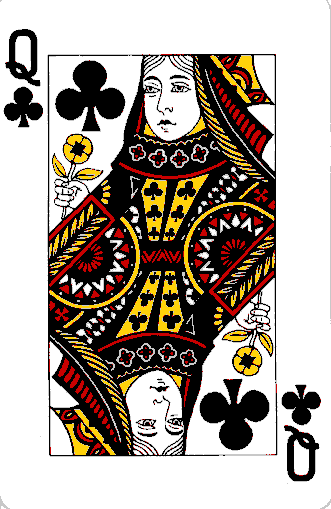 Courts On Playing Cards