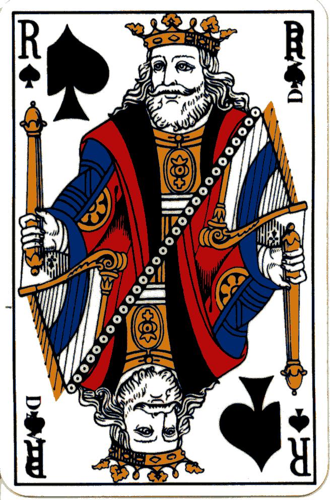Kingspade Wallpaper [king of spades (french